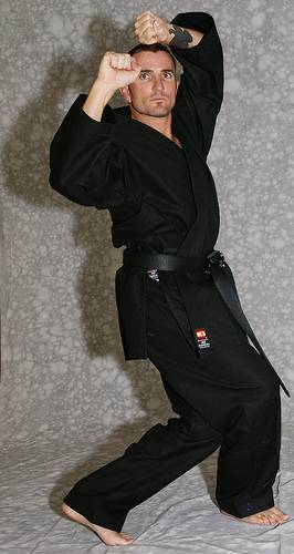 KI Heavy Weight (black karate uniform, Karate gi)