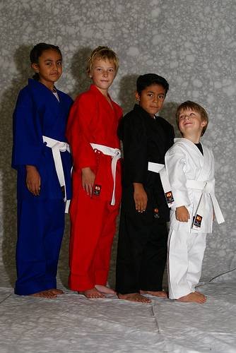 KI - Heavy Weight (red Karate uniform, Karate gi)