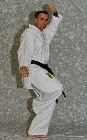 MUGEN Yellow Label (white karate uniform, Karate gi)