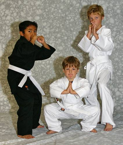 KI - Light Weight 6.75 oz. Poly-Cotton Karate Uniform (white karate gi)