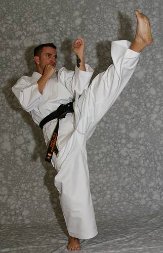 KI MUGEN black label white karate uniform