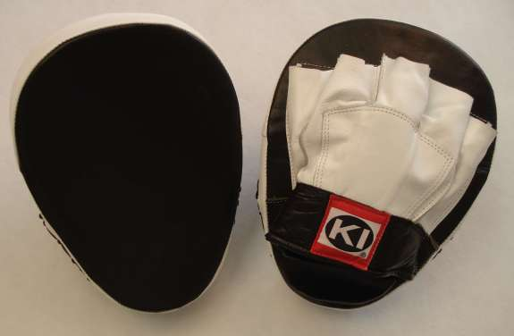 Focus mitt - front and back