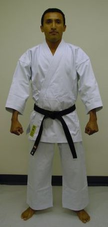 KI MUGEN yellow label white karate uniform - Karate gi
