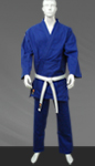 Judo Single Weave Blue Uniform (Judo gi)