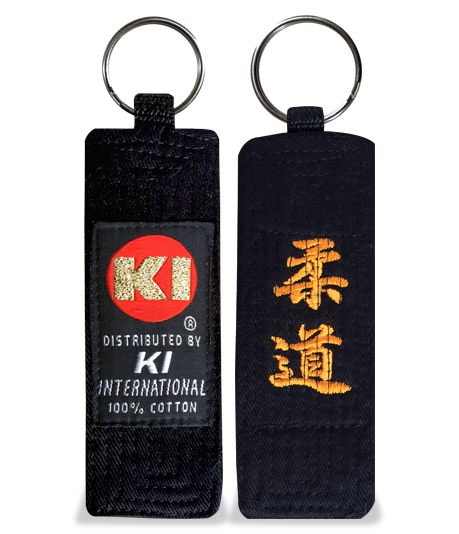 Embroidered Belt Key Holder (Judo)