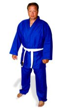 Judo Double Weave Blue Uniform (Judo gi)