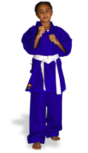 KI - Heavy Weight (blue Karate uniform, Karate gi)