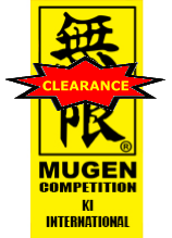 MUGEN Yellow Label - Toyo cut (white karate uniform/gi) (Size 2, 6.5, and 7 only)