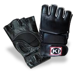 Mixed Martial Arts Gloves (Black)