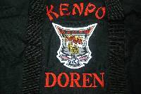shotokan Rank line embroidery