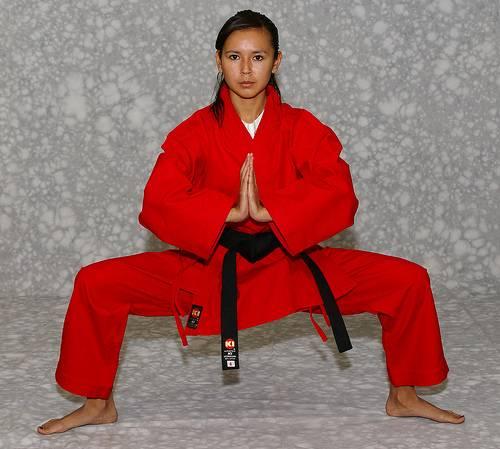 KI - Heavy Weight (red Karate uniform, Karate gi)