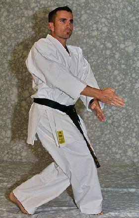 MUGEN Yellow Label (white karate uniform, Karate gi)