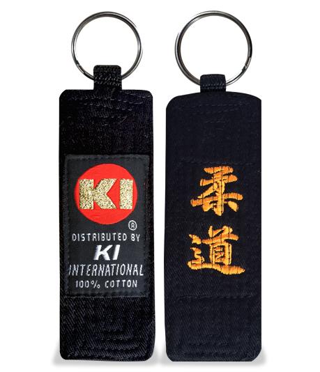 Embroidered Belt Key Holder (Judo)