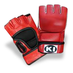 Mixed Martial Arts Gloves (Red)