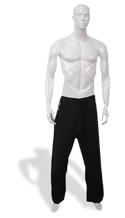 KI - Light Weight 8 oz. Poly-Cotton Karate Pants (black)