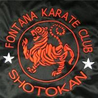 Special Embroidery on back of Karate or Judo uniform's